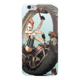 "Чехол для iPhone 6 ""Tank girl "" - девушка, панк, колесо"