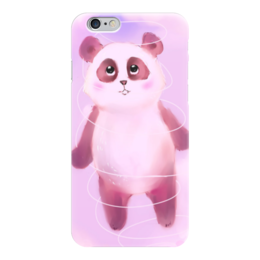 "Чехол для iPhone 6 ""Pink Панда"" - панда, pink"