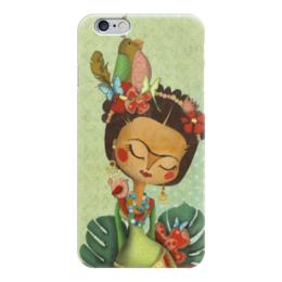 """Чехол для iPhone 6 глянцевый """"Frida Kahlo"""" - любовь, художник, фрида кало, фрида, frida kahlo"""