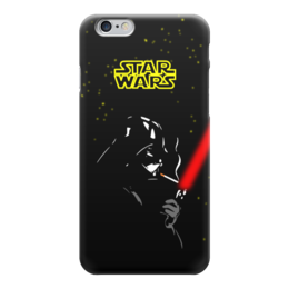 "Чехол для iPhone 6 ""Darth Vader smokes!!!"" - star wars, курит, darth vader, звездные войны, дарт вейдер"