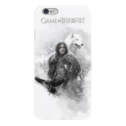 "Чехол для iPhone 6 глянцевый ""Игра престолов | Game of Thrones"" - игра престолов, game of thrones"