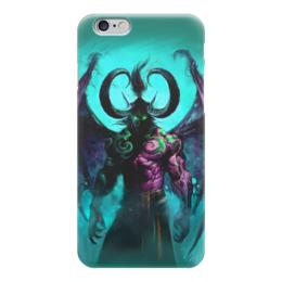 "Чехол для iPhone 6 ""WarCraft Collection: illidan"" - wow, dota, warcraft, варкрафт, иллидан"