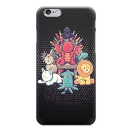 """Чехол для iPhone 6 """"Game of Toys"""" - пародия, игрушки, игра престолов, game of thrones"""