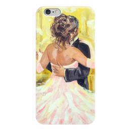 """Чехол для iPhone 6 """"Танец любви"""" - танец, свадьба, пара, подарок на свадьбу, оригинальный подарок на свадьбу"""