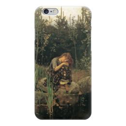 "Чехол для iPhone 6 ""Алёнушка (картина Васнецова)"" - картина, васнецов"