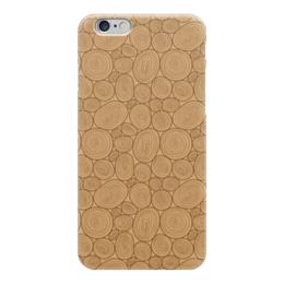 """Чехол для iPhone 6 """"Древесный"""" - арт, узор, рисунок, орнамент, дерево"""