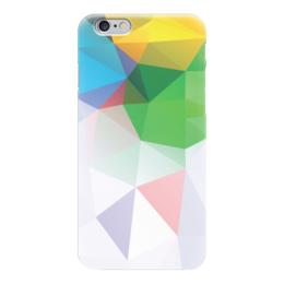 "Чехол для iPhone 6 ""Polygon Yellow-Green"" - polygon"