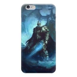 """Чехол для iPhone 6 """"Король Лич"""" - война, супергерои, warcraft, world of warcraft, варкрафт"""