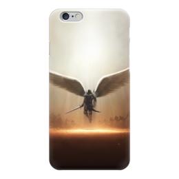 """Чехол для iPhone 6 """"Ангел"""" - ангел, свет, diablo 3, tyrael"""