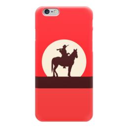 """Чехол для iPhone 6 """"Ковбой"""" - кино, ковбой, дикий запад, вестерн"""