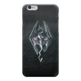 "Чехол для iPhone 6 глянцевый ""Skyrim (Скайрим)"" - книга, the elder scrolls v skyrim, skyrim, скайрим"