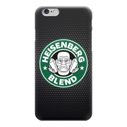 "Чехол для iPhone 6 ""Heisenberg (Breaking Bad)"" - пародия, во все тяжкие, breaking bad, starbucks, старбакс"