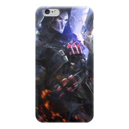 "Чехол для iPhone 6 ""Жнец "" - blizzard, близзард, overwatch, reaper, овервотч"