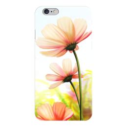 "Чехол для iPhone 6 глянцевый ""Привет от Лета"" - лето, цветы"