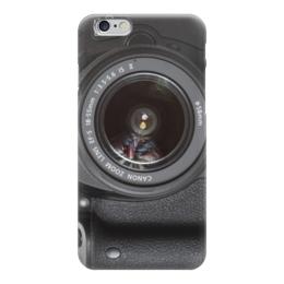 """Чехол для iPhone 6 """"Фотоаппарат"""" - foto, фотоаппарат, nikon, canon, зеркальный"""