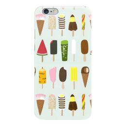 "Чехол для iPhone 6 ""Эскимо"" - лето, сладости, мороженое, эскимо, ice cream"