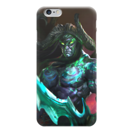 "Чехол для iPhone 6 глянцевый ""Illidan Stormrage"" - варкрафт, иллидан, близзард, world of warcraft, warcraft"