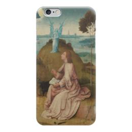 """Чехол для iPhone 6 """"Святой Иоанн на Патмосе (картина Босха)"""" - картина, босх"""
