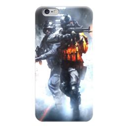 """Чехол для iPhone 6 глянцевый """"Battlefield (Поле битвы)"""" - баттлфилд, battlefield, поле битвы"""