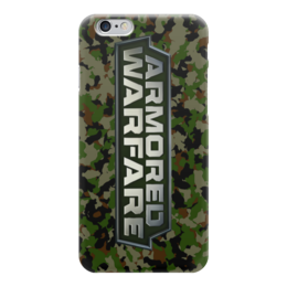 "Чехол для iPhone 6 ""Armored Warfare"" - игра, game, танки, aw, armored warfare"