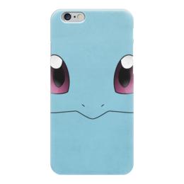 """Чехол для iPhone 6 """"Сквиртл"""" - нинтендо, nintendo, pokemon go, покемон го, squirtl"""