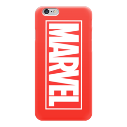 "Чехол для iPhone 6 ""Marvel "" - comics, комиксы, marvel, марвел, капитан америка, captain america"