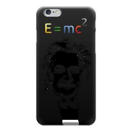 "Чехол для iPhone 6 глянцевый ""Эйнштейн"" - наука, физика, эйнштейн"