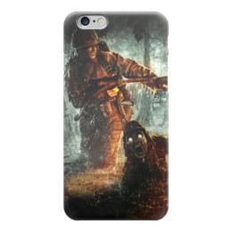 "Чехол для iPhone 6 ""Солдат "" - армия, война, вьетнам, огнемет"