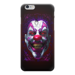 "Чехол для iPhone 6 ""Evil Clown"" - зомби, клоун, evil, clown, злой клоун"