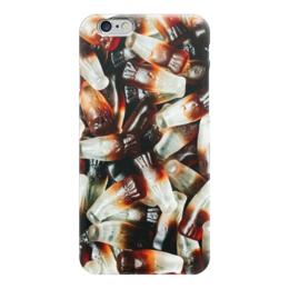 """Чехол для iPhone 6 """"Мармелад CocaCola"""" - еда, кокакола, мармелад"""