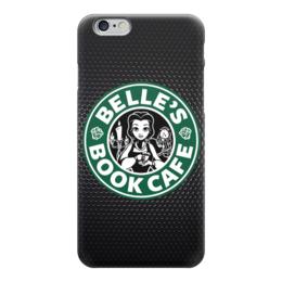 """Чехол для iPhone 6 глянцевый """"Belles Book Cafe (Starbucks)"""" - starbucks, coffee, кофе"""