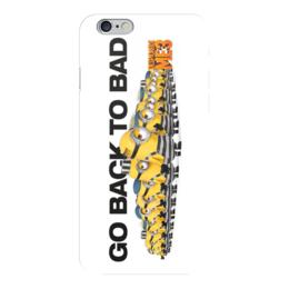 """Чехол для iPhone 6 глянцевый """"Гадкий я / Despicable Me"""" - комикс, рисунок, кино, мультфильм, гадкий я"""