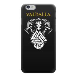 """Чехол для iPhone 6 """"Вальхалла. Путь воина"""" - свобода, история, бессмертие, викинги, путь воина"""