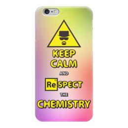 """Чехол для iPhone 6 глянцевый """"Breaking Bad/Во все тяжкие"""" - keep calm, сериал, во все тяжкие, breaking bad, heisenberg"""