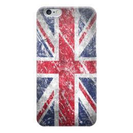 "Чехол для iPhone 6 глянцевый ""Британский Флаг"" - union jack, great britain, англия"