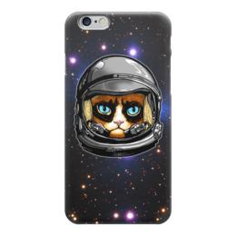 """Чехол для iPhone 6 """"Кот в скафандре"""" - кот, космос, вселенная, starcraft, скафандр"""