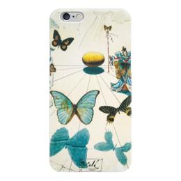 "Чехол для iPhone 6 ""Сальвадор Дали / Бабочки"" - бабочка, бабочки, сальвадор дали, дали, иллюстрация, сюрреализм, salvador dali, dali, butterflies"