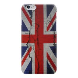 "Чехол для iPhone 6 ""Британский Флаг"" - англия, флаг, uk, great britain, британский флаг"