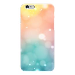 """Чехол для iPhone 6 """"Абстракция"""" - арт, радуга, дизайн, абстракция, блики"""