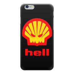 """Чехол для iPhone 6 """"Hell (Ад)"""" - hell, пародия, ад, shell"""