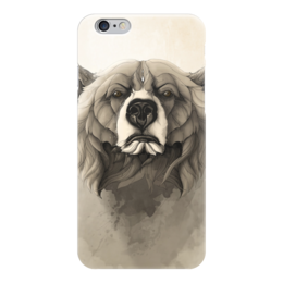 "Чехол для iPhone 6 ""Медведь"" - арт, bear, grizzly, гриззли"