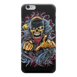 """Чехол для iPhone 6 """"Horror Art"""" - skull, череп, арт, art, страх, ужас, death, смерть, fear, horror"""