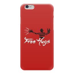 "Чехол для iPhone 6 ""Freddy Hugs"" - кошмар, мило, обнимашки, ужасы, фредди крюгер, hugs, freddy kruger"