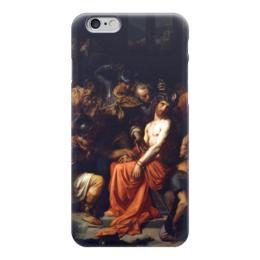 "Чехол для iPhone 6 ""Поругание Христа (Картина Кабанеля)"" - картина, кабанель"