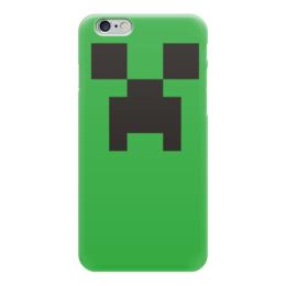 "Чехол для iPhone 6 ""Minecraft"" - игры, компьютерные игры, minecraft, майнкрафт, крипер"