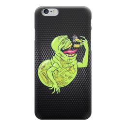 "Чехол для iPhone 6 ""Лизун (Обжорка)"" - охотники за привидениями, привидение, ghostbusters, лизун"
