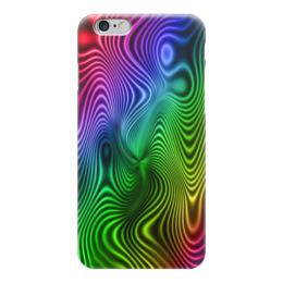 """Чехол для iPhone 6 """"Абстракция"""" - радуга, узоры, разводы, абстракция, арт дизайн"""