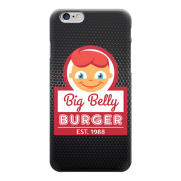 "Чехол для iPhone 6 ""Big Belly Burger"" - burger, фаст-фуд, big belly burger"