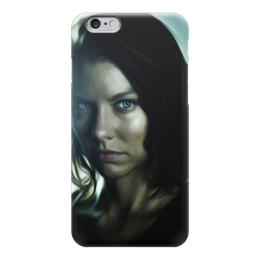 "Чехол для iPhone 6 ""THE WALKING DEAD | Maggie "" - ходячие мертвецы, the walking dead, мэгги, maggie"