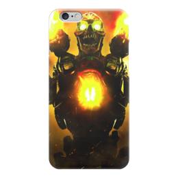 """Чехол для iPhone 6 """"Doom 4"""" - doom, шутер, дум, выживший, revenant demon"""